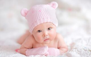 Развитие ребёнка в 1 месяц