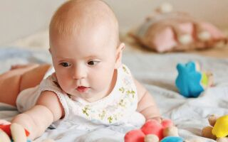 Развитие ребёнка в 2 месяца