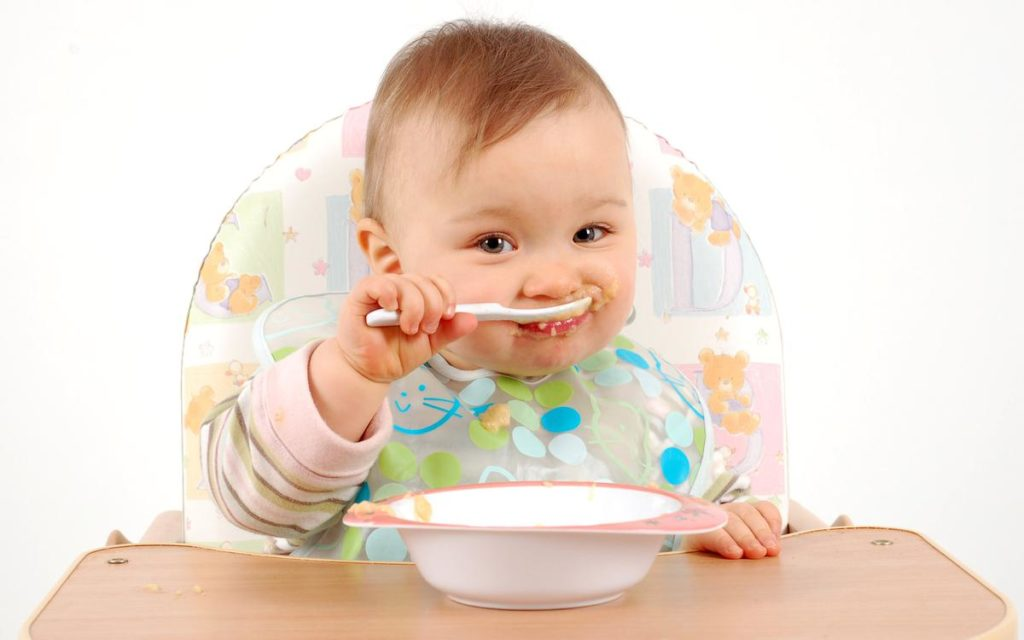 Питание малыша в 7 месяцев