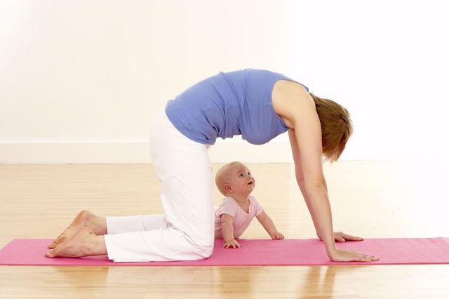 Йога для восстановления после родов: рекомендации